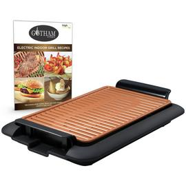 Gotham Steel 6 Portion Electric Indoor Grill Griddle