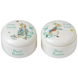Beatrix Potter Peter Rabbit First Tooth & Curl Boxes