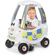Little Tikes Cozy Coupe Police Car - White