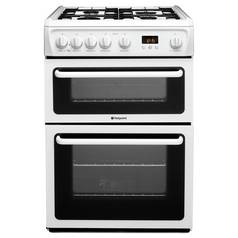 Hotpoint HAG60P Gas Cooker - White