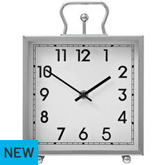 Argos Home Tuscany Square Mantel Clock