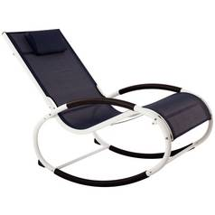 Vivere Wave Rocker - Navy On Matte White