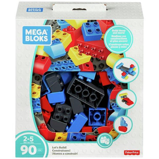 Mega Bloks Lets Build 90 Block Set
