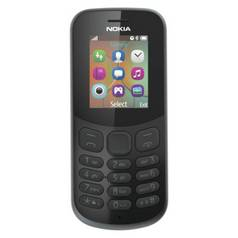SIM Free Nokia 130 Mobile Phone - Black