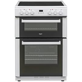 Bush BDBL60ELW 60cm Double Oven Electric Cooker - White
