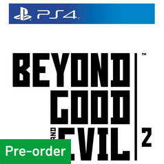 Beyond Good and Evil 2 PS4 Pre-Order Game
