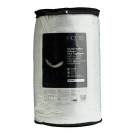 Argos Home Goose Feather & Down 10.5 Tog Duvet - Double