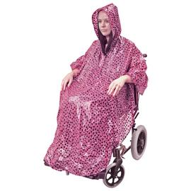 Aidapt Rainproof Coverall for Wheelchair - Polkadot