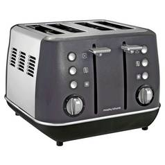 Morphy Richards 240105 Evoke 4 Slice Toaster - Black