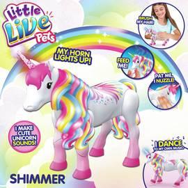 b7af4c748 Little Live Pets Rainbow Unicorn - Shimmer
