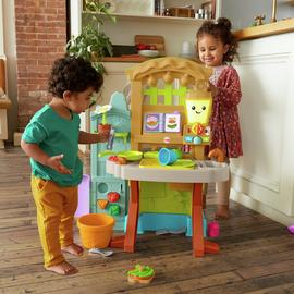 Fisher-Price Laugh & Learn Grow the Fun Garden to Kitchen