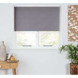Argos Home Blackout Insulating Roller Blind - Slate Grey