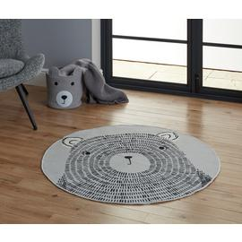 Argos Home Teddy Circle Rug - 100x100cm