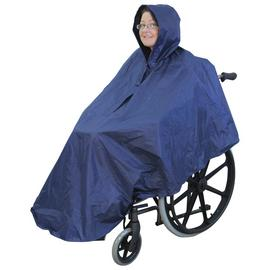Rainproof Wheelchair Coverall - Blue