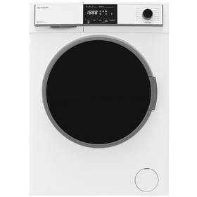 Sharp ES-HFH8147W3 8KG 1400 Spin Washing Machine - White