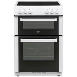 Bush BT60ELW 60cm Twin Cavity Electric Cooker - White