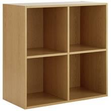 buy home squares 4 cube storage unit oak effect at argos. Black Bedroom Furniture Sets. Home Design Ideas