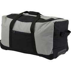 Go Explore Soft Wheeled 80L Large Holdall - Grey