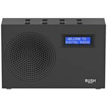 Bush DAB / FM Radio - Black