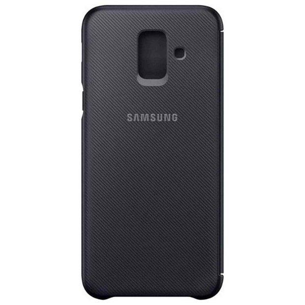 meet 1edb5 48e74 Buy Samsung A6 Mobile Phone Wallet Cover - Black | Mobile phone cases |  Argos