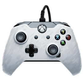 PDP Xbox One Wired Controller - White Camo