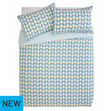 Argos Home Newstalgia Retro Bedding Set - Kingsize