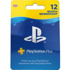 12 Month PlayStation Plus Membership