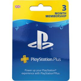 3 Month PlayStation Plus Membership