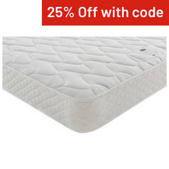 Silentnight Essentials Open Coil Single Mattress