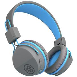 JLab JBuddies Kids Wireless Headphones - Grey/ Blue