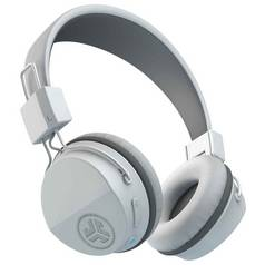 JLab Neon Wireless On-Ear Headphones - White