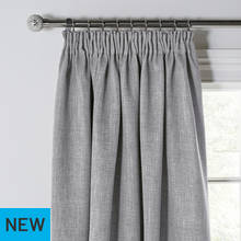Argos Home Blackout Twilight Pencil Pleat Curtains
