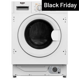 Bush WDDFINT 7/8KG Washer Dryer - White