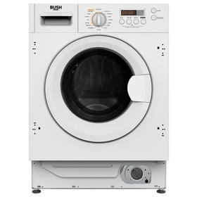 Bush WDDFINT 8KG / 6KG 1400 Integrated Washer Dryer - White