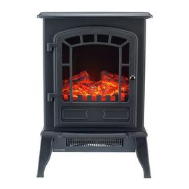 Beldray Mosta 2kW Electric Freestanding Mini Stove - Black