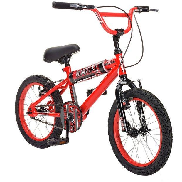 Buy Piranha Mania 16 Inch BMX Bike | BMX bikes | Argos