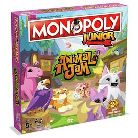 Monopoly Animal Jam Monopoly Junior
