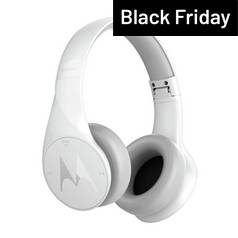Motorola Pulse Escape Wireless Over-Ear Headphones - White