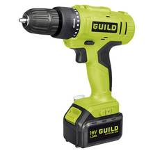 Guild 1.3AH Cordless Drill Driver with 2 18V Batteries