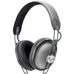 Panasonic RP-HTX80BE Wireless Over Ear Headphones - Grey
