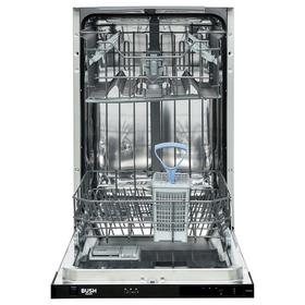 Bush DW9SLINTW Slimline Integrated Dishwasher