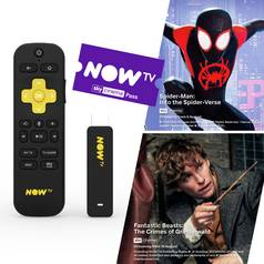 NOW TV Smart Stick with 1 Month Sky Cinema Pass