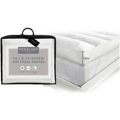 Downland Duck Feather 12cm Mattress Topper - Superking
