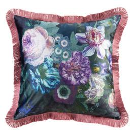 Argos Home Dutch Glam Fringed Cushion