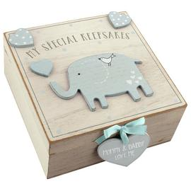 Petit Cheri Blue 'My Special Keepsake' Box