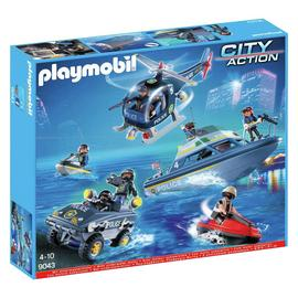 Playmobil 9043 City Action Police SWAT Set
