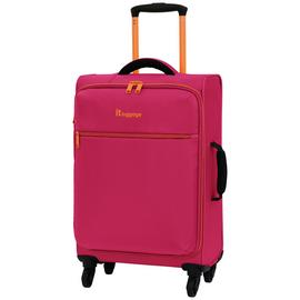IT Luggage The Lite 4 Wheel Soft Cabin Suitcase