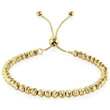 Buckley Gold Colour Soho Diamond Cut Bracelet