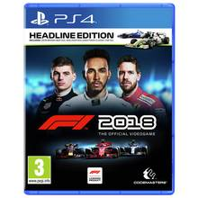 F1 2018 Headline Edition PS4 Pre-Order Game