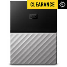 WD My Passport Ultra 2TB Portable Hard Drive - Black/ Silver